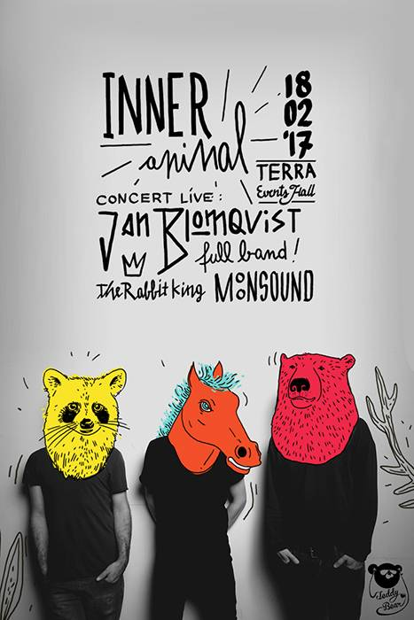 Poster Inner Animal with Jan Blomqvist