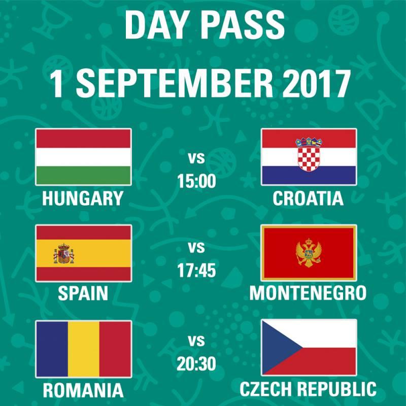 Poster FIBA EuroBasket 2017 - Day Pass - Day 1