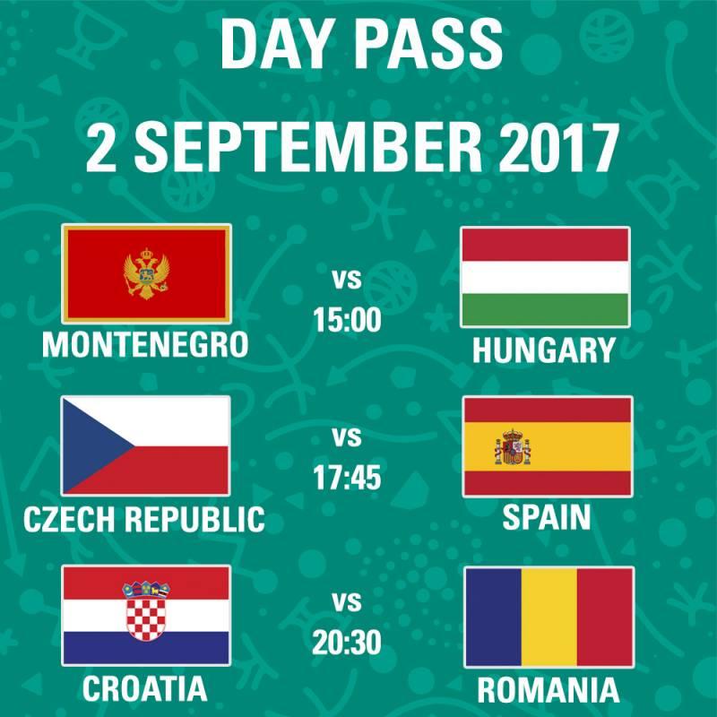 Poster FIBA EuroBasket 2017 - Day Pass - Day 2