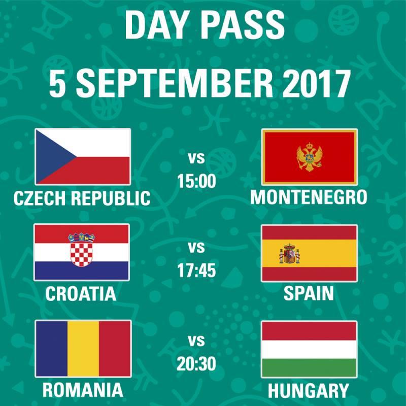 Poster FIBA EuroBasket 2017 - Day Pass - Day 4
