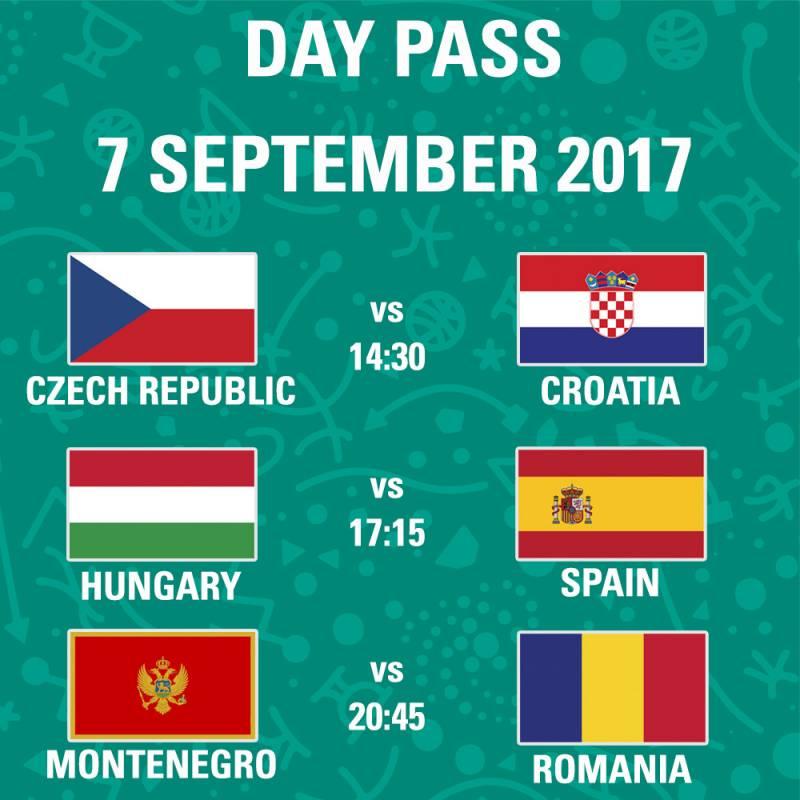 Poster FIBA EuroBasket 2017 - Day Pass - Day 5