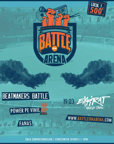 Poster Battle ON Arena - Beatmakers Battle