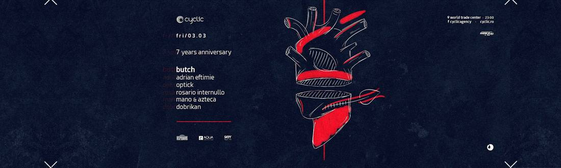 Cyclic 7 Years Anniversary in Bucharest