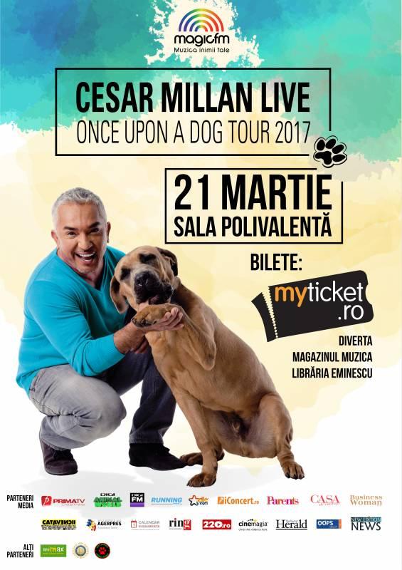 Poster Cesar Millan Live - Once Upon a Dog Tour
