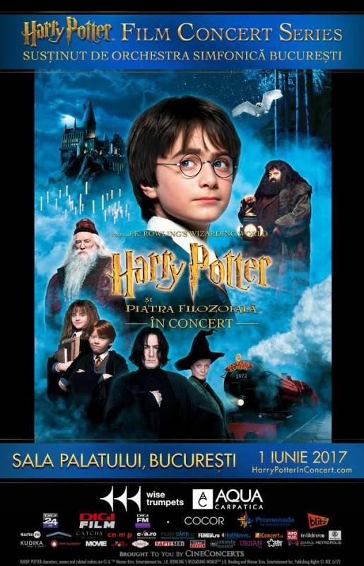 Poster Harry Potter si Piatra Filozofala™ - In concert