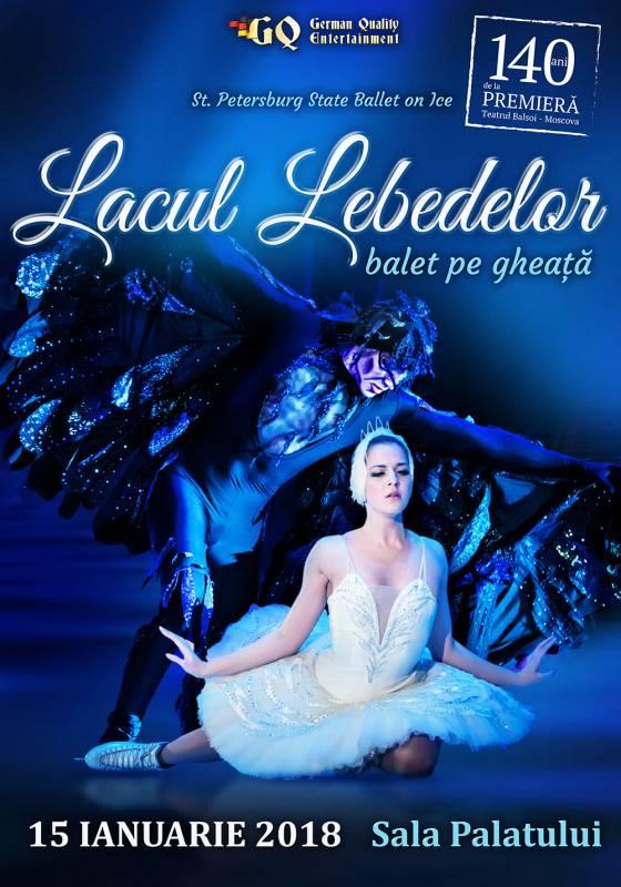 Poster Lacul Lebedelor: balet pe gheata