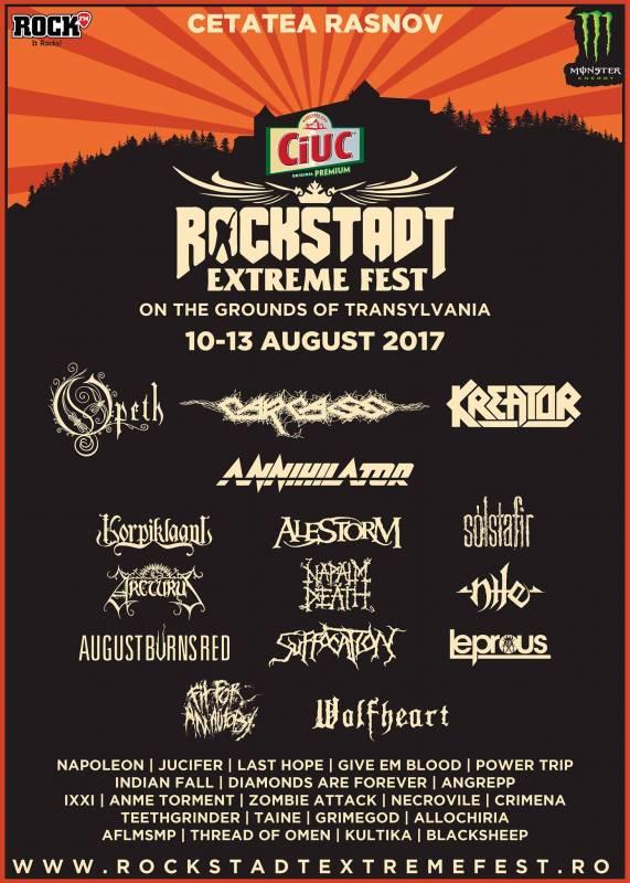 Poster Rockstadt Extreme Fest 2017