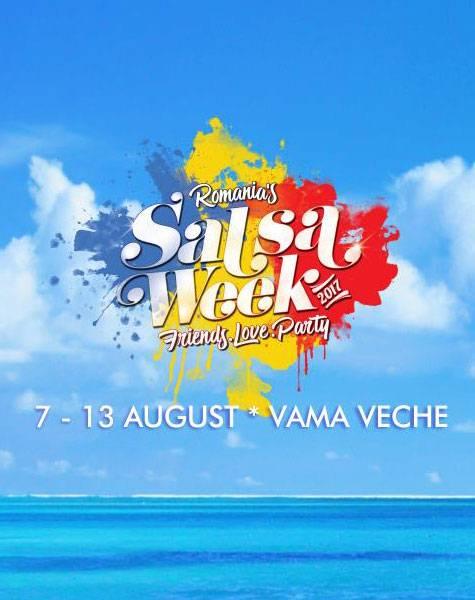 Poster Romania Salsa Week 2017