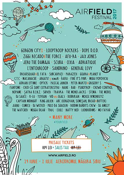 Poster Airfield Festival