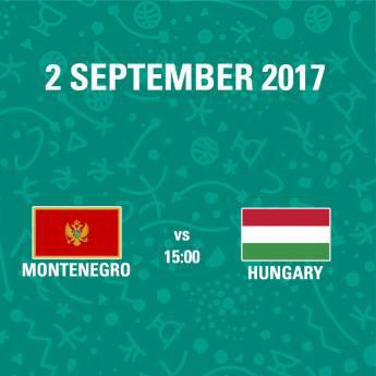 Poster FIBA EuroBasket 2017 - Muntenegru - Ungaria