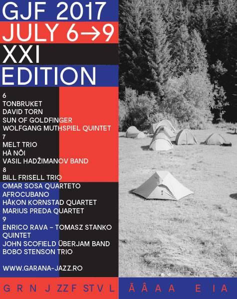 Poster Garana Jazz Festival 2017