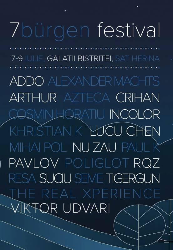 Poster 7Bürgen Festival