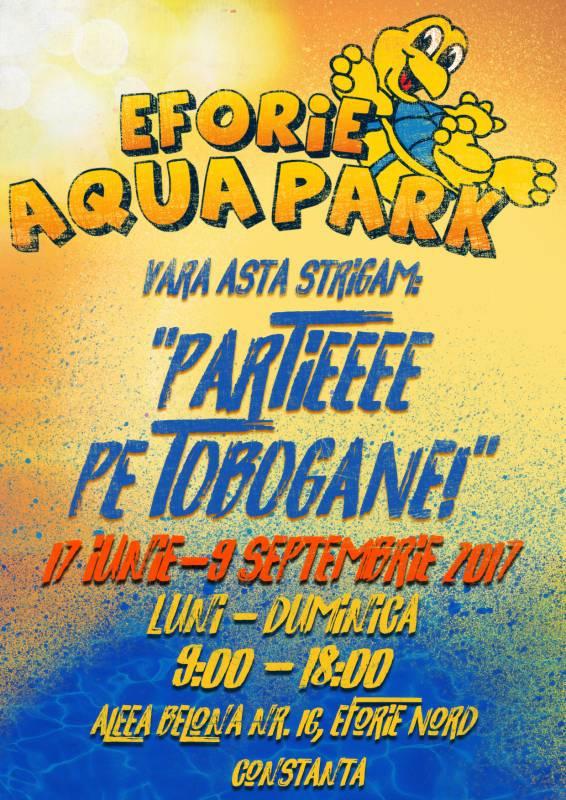 Poster Eforie Aqua Park