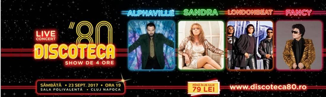 Discoteca '80 – Alphaville, Sandra, Londonbeat, Fancy