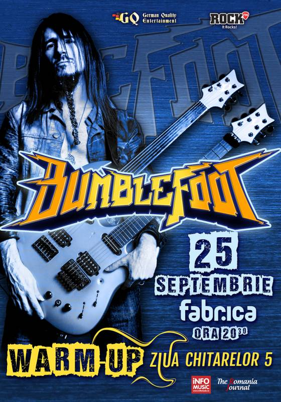 Poster Bumblefoot- ZC5 Warm Up Party