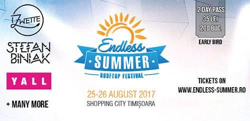 Poster Endless Summer Rooftop Festival