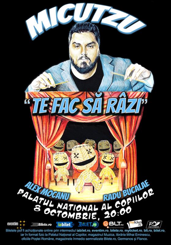 Poster Micutzu - Te Fac Sa Razi