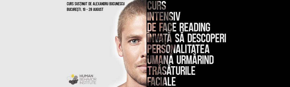 Curs intensiv de Face Reading