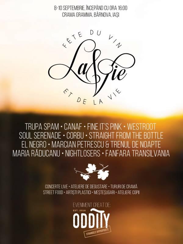 Poster Festival La Vie 2017
