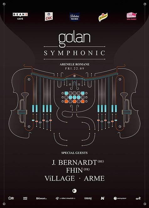 Poster Golan Symphonic with special guest: J.Bernardt