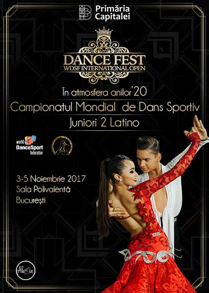 Poster DanceFest 2017 4 Noiembrie