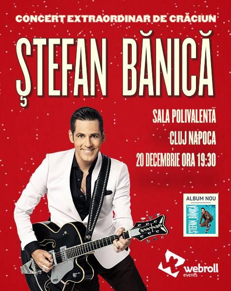 Poster Concert extraordinar de Craciun – Stefan Banica