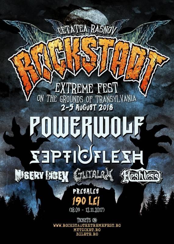 Poster Rockstadt Extreme Fest 2018