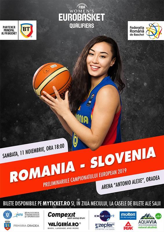 Poster Romania - Slovenia
