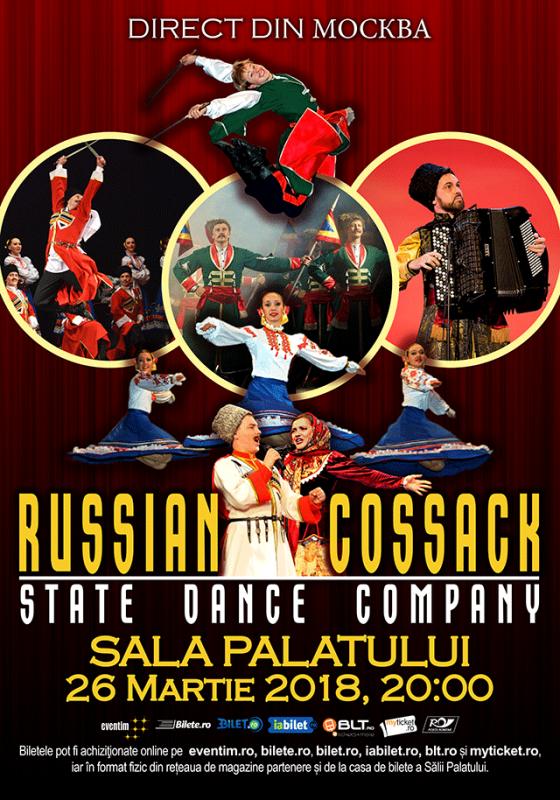 Poster  Cazacii Rusiei - Compania de dans din Moskova