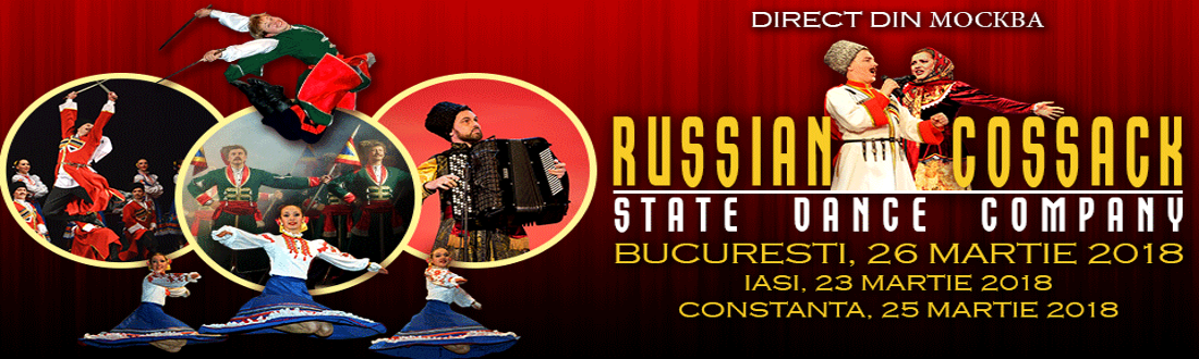 Cazacii Rusiei - Compania de dans din Moskova