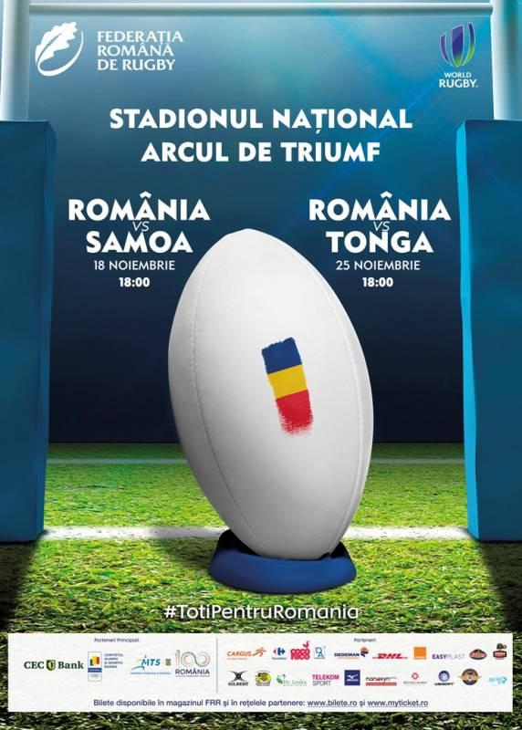 Poster Romania - Tonga