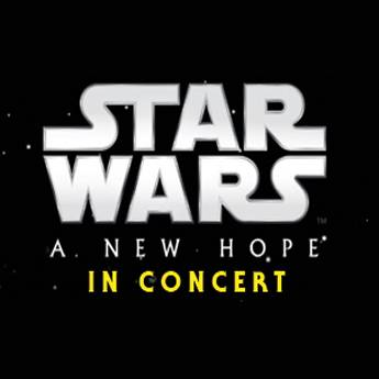 Poster Star Wars Live in Concert – A New Hope