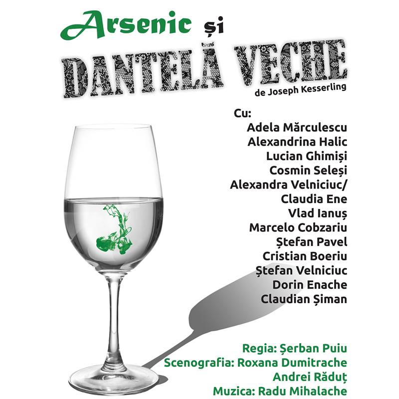 Poster Arsenic si dantela veche