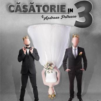 Poster Casatorie in trei