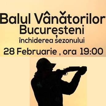 Poster BALUL VANATORILOR BUCURESTENI