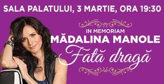 In Memoriam  MADALINA MANOLE - Fata draga