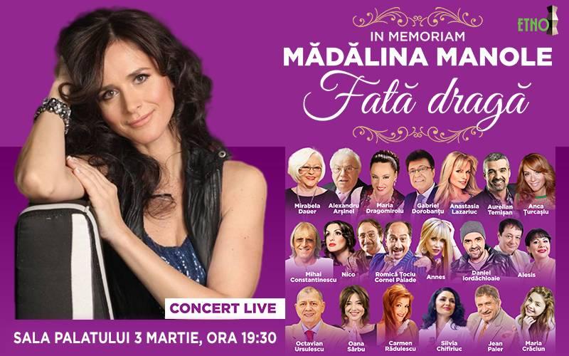 Poster In Memoriam  MADALINA MANOLE - Fata draga