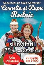 Cornelia si Lupu Rednic - Spectacol de gala aniversar