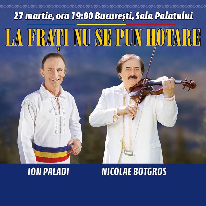 Poster La frati nu se pun hotare