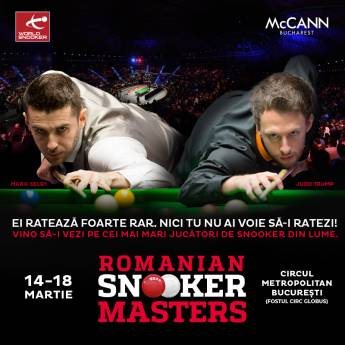 Poster Romanian Snooker Masters - Finala