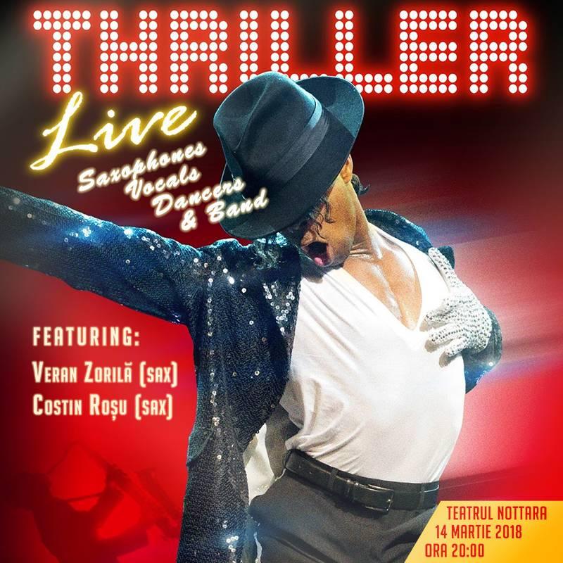Poster THRILLER Live