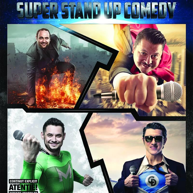 Poster Stand Up Comedy-Bobonete, Dita, Rait, Vancica