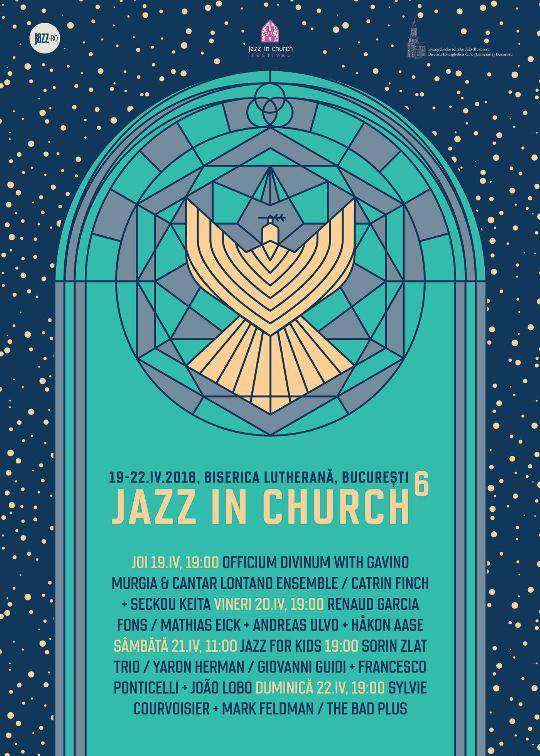 Poster Jazz in Church  - 20 Aprilie