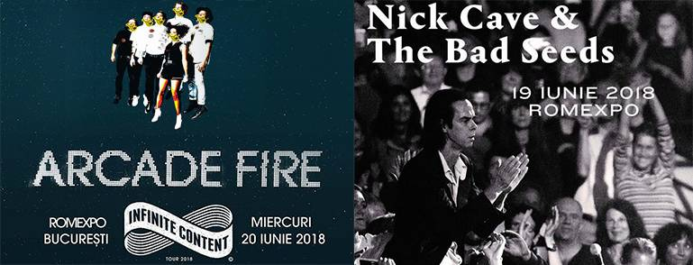 ROCK THE CITY presents Nick Cave and the Bad Seeds, Arcade Fire