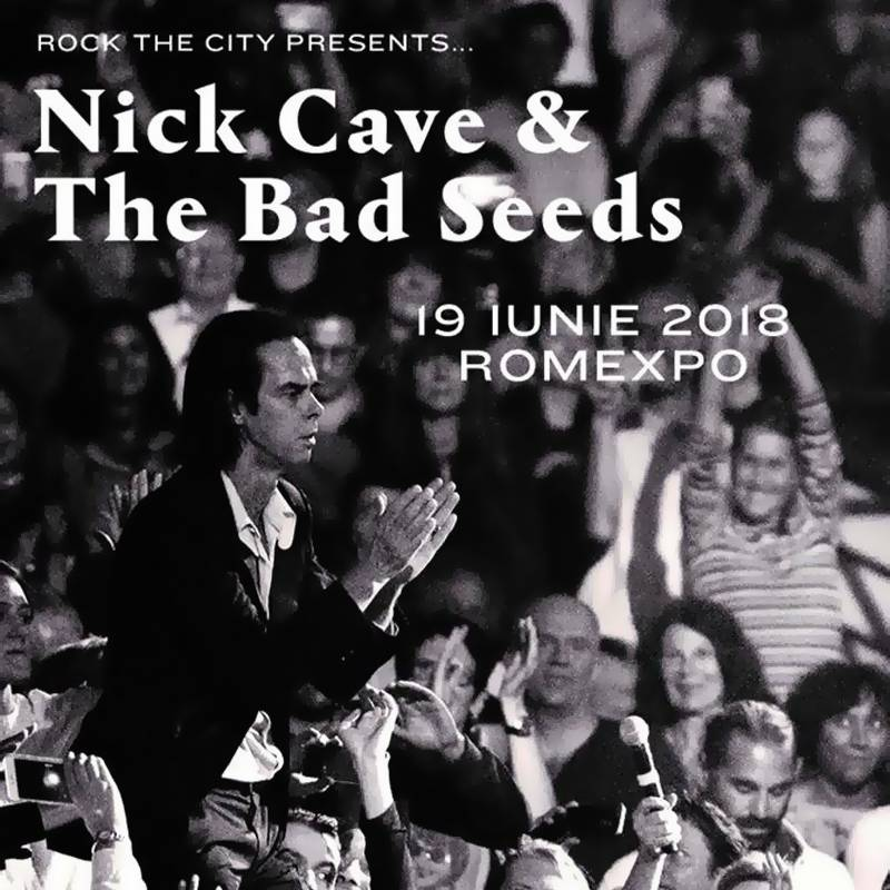 Poster ROCK THE CITY PRESENTS NICK CAVE & THE BAD SEEDS