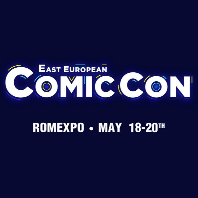 Poster Bilete Actori East European Comic Con 2018