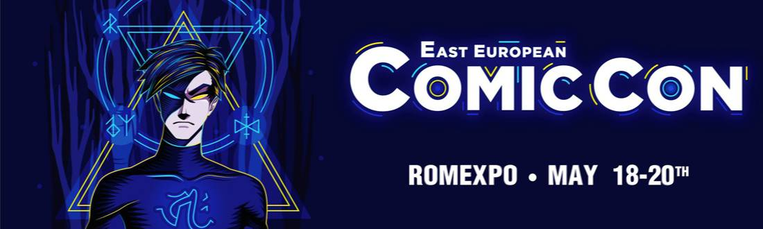 Bilete Actori East European Comic Con 2018