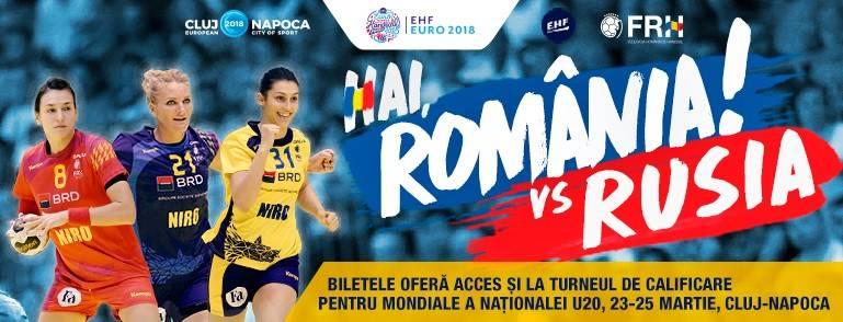 Handbal Feminin: Romania – Rusia