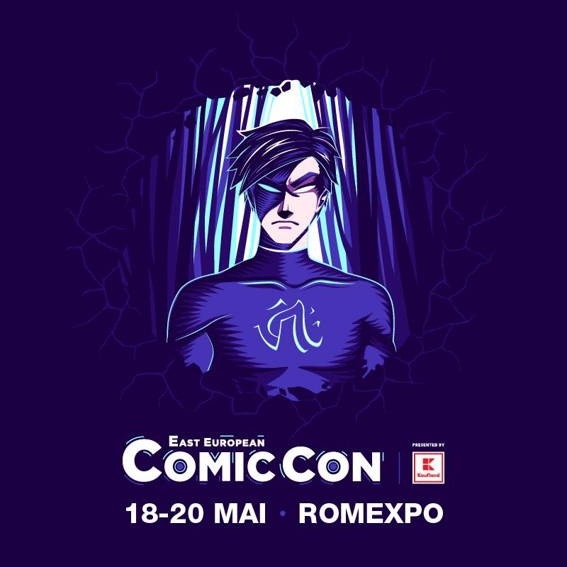 Poster East European Comic Con 2018