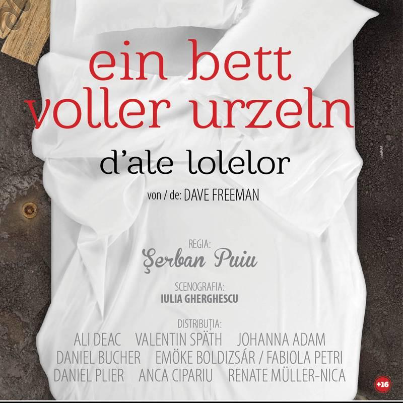 Poster EIN BETT VOLLER ERZELN / D'ALE LOLELOR